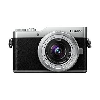 PANASONIC LUMIX GX850 4K Mirrorless Camera with 12-32mm MEGA O.I.S. Lens, 16 Megapixels, 3 Inch Touch LCD, DC-GX850KS (USA SILVER)