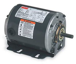 Dayton 3K771 Motor, 1/4 HP, 60hz, Belt ()
