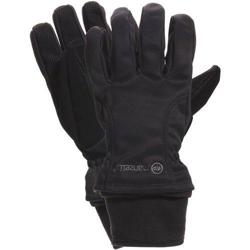 Manzella Women's Adventure 100 Glove (Black, Small)