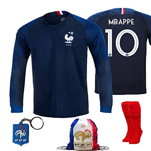 brand new 9bb95 be089 France Soccer Team Pogba Griezmann Mbappe Kid Youth Replica ...