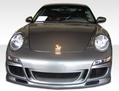 Duraflex Replacement for 1999-2004 Porsche 911 Carrera 996 1997-2004 Porsche Boxster 997 GT-3 RS Conversion Front Bumper Cover - 1 Piece ()