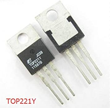 5PCS PI TOP221Y Three-terminal Off-line PWM Switch: Amazon.co.uk ...
