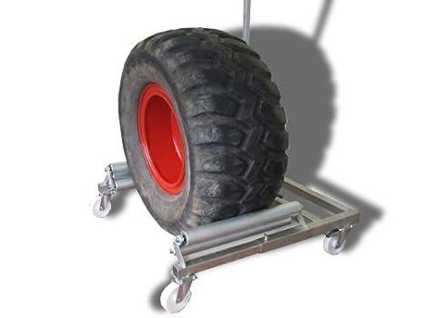 "Bern madera Radwechselwagen ""profesional"" con 800 mm ruedas de neumáticos ..."