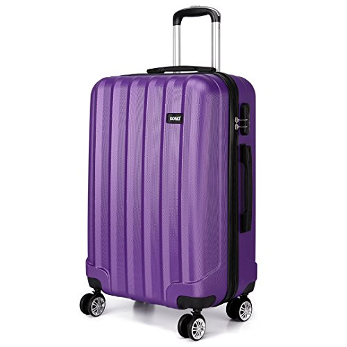 Kono 28 Inch Large Hard Shell Luggage Lightweight ABS 4 Wheels Spinner...