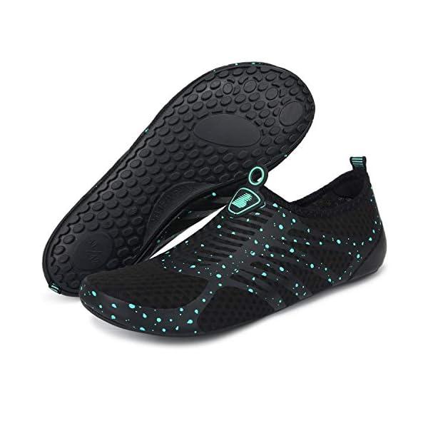 Joinfree - Scarpe da mare per uomo e donna, calzature ideali per la spiaggia, piscina, surf, nuoto e sport acquatici in… 5 spesavip