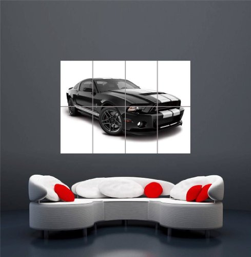 2013 MUSTANG GT500 SHELBY CAR NEW GIANT WALL ART PRINT PICTU
