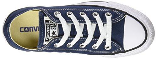 Converse Chuck Taylor All Star Ox, Zapatillas de Gimnasia para Hombre Azul (Navy)