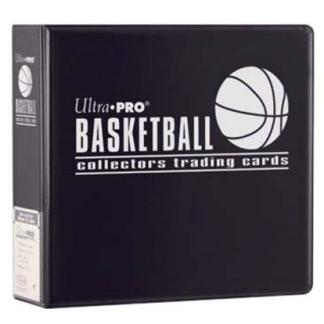 - Black Ultra Pro 3 Inch D Ring Basketball Collectors Album 3