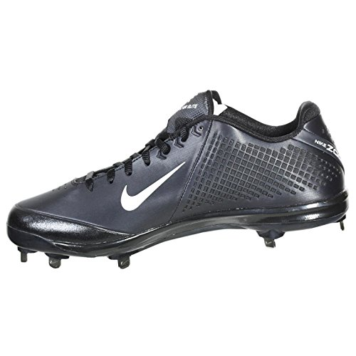 Nike Zoom Elite Bb Metal Blk / Wh Mens Tacchetti Da Baseball In Metallo Us 14 M, Eu 48