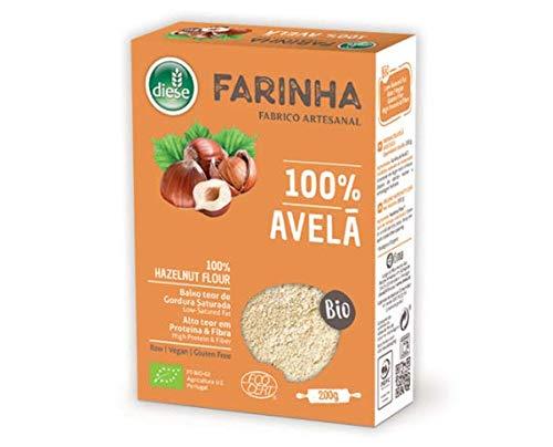 DIESE - Gluten Free Organic HAZELNUT Flour - 4 x 200gr / 7.05oz