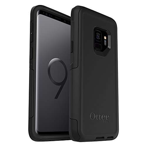 OtterBox Commuter Series Case for Samsung Galaxy S9 - Frustration Free Packaging - Black (Case Cell Commuter Phone)