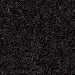 Floor or Bathroom Natural Stone Tile Granite Tile 12in x 12 in x 1 cm Black Impala