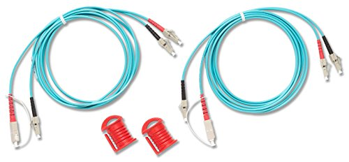 DPLX-LC Duplex Multimode Test Reference Cord for LC Adapter, 50 µm, 2 m Cable Length, SC/LC ()