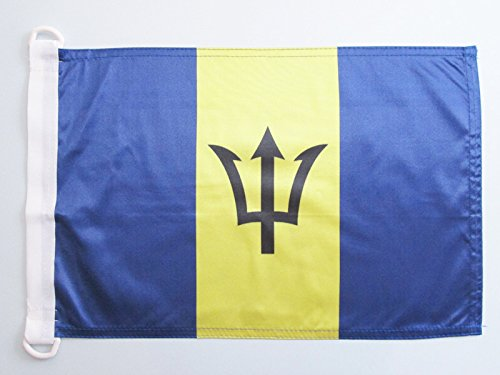 - AZ FLAG Barbados Nautical Flag 18'' x 12'' - Barbadian Flags 30 x 45 cm - Banner 12x18 in for Boat