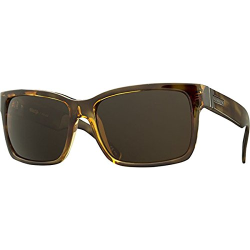 (VonZipper Mens Elmore Polarized Sunglasses, Tortoise / Wildlife Brown Polarized Lens, One Size)