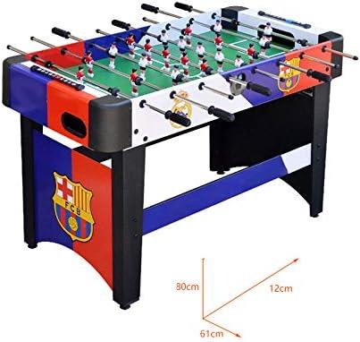 ZHRLQ Mesa de fútbol Sala, Mesa de Juego estándar de 8 Bares para ...