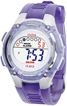 Shopping Water Resistant or Timer - Purple - Wrist Watches