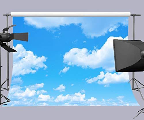 Daniu Blue Sky Photo Background White Clouds Photography Backdrop Photo Shoot Props