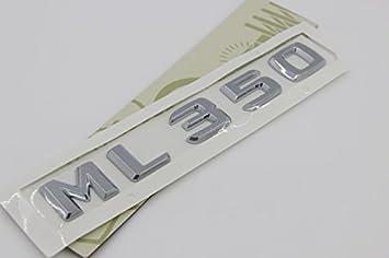 E814 Ml 350 Emblem Badge Auto Aufkleber Schriftzug Hinten Abzeichen Car Sticker Zahlziffer Chrom Ml 530 Auto