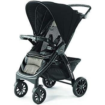 Amazon.com : Chicco Bravo Quick-Fold Stroller, Ombra : Baby