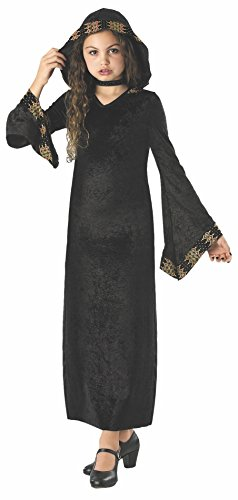 Evil Vampire Queen Costumes (Rubie's Costume Midnight Princess Costume, One Color, Large)