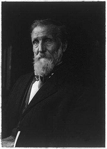 1912 Photo John Muir, 1838-1914 Bust, facing right.