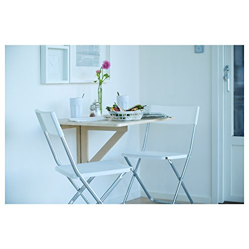 Charmant Amazon.com: IKEA NORBO Solid Birch Wall Mounted Drop Leaf Bar Table: Home U0026  Kitchen