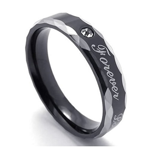 KONOV Stainless Promise Couples Engraved