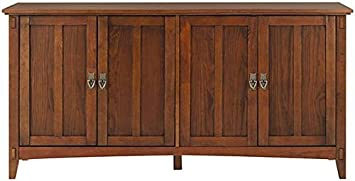 Amazoncom Artisan Buffet 30Hx60Wx18D MEDIUM OAK Kitchen
