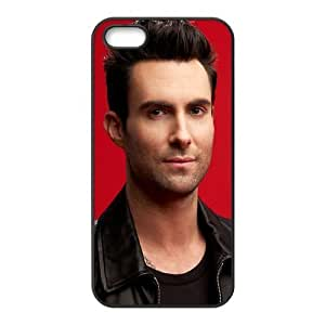 Customize Popular Singer Adam Levine Back Cover Case for iphone 5 5S Designed by HnW Accessories