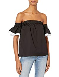 Women's Bare Shoulder Top with Combo