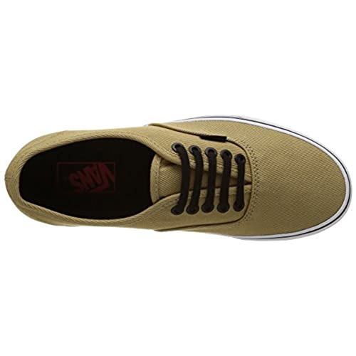 df441345be free shipping Vans Authentic Men Round Toe Canvas Tan Skate Shoe ...
