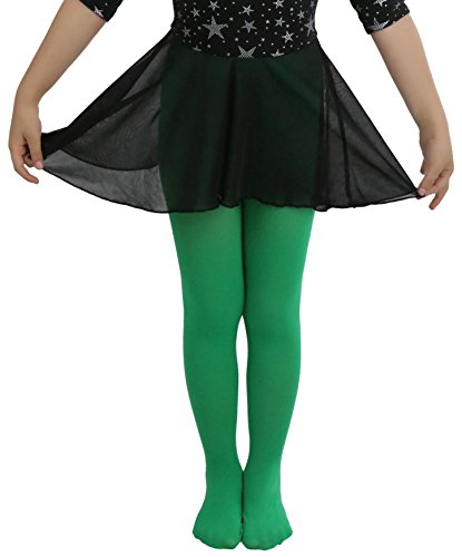 ToBeInStyle Girl's Girls Opaque Tights - Kellygreen - S