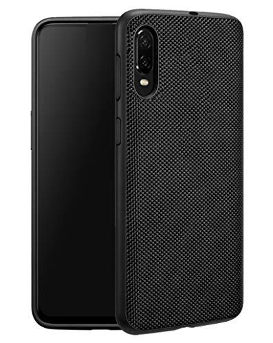 Galaxy A10e Case, Galaxy A10 E Case, UCC Slight Waterproofing Nylon Material TPU Bumper Lightweight Slim Anti-Scratch Fit Protective Case for Samsung Galaxy A10E Phone (A10e Case Black) ()
