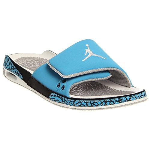 best service 9c985 797a2 Jordan Mens Nike Air 3 Slide Padded Slipper Sandals Blue ...