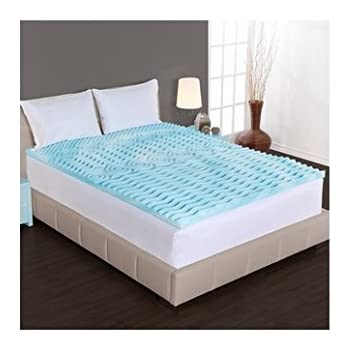 Amazon Com Beautyrest 3 Inch Sculpted Gel Memory Foam