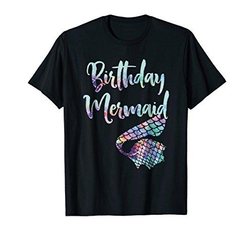 Birthday Mermaid Shirt -