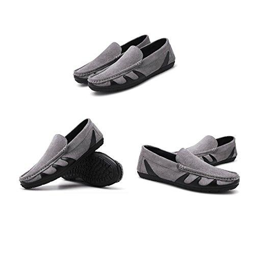 Salvaje Liuxueping Zapatos Lazy Casuales De Vela Verano Individuales Coreanos Personalidad Gray Hombre Guisantes RRrYaf