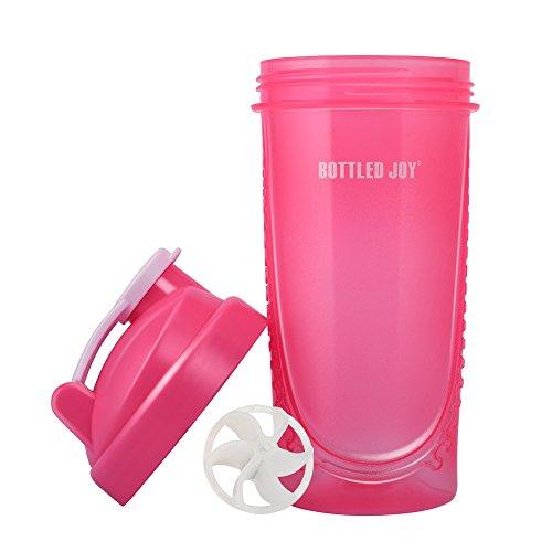 Review BOTTLED JOY Protein Bottle,Non-toxic