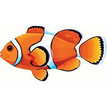 clown fish cutout