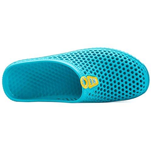 Sandals Turq Quick for Unisex Lightweight Women Walk Men Dry welltree Clogs Shoes Slippers Garden va1XXqwO