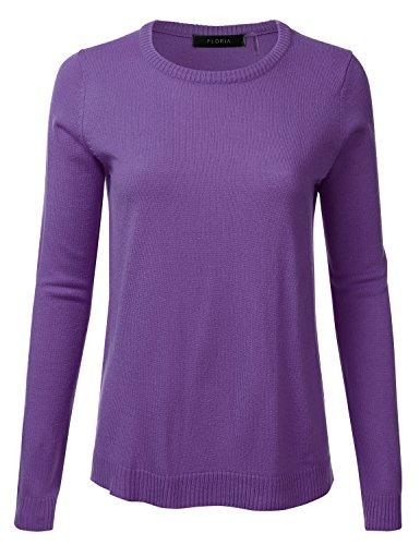 Trim Crewneck Sweater - 4