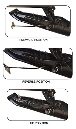 Over The Top Performance SKI MOUNTED Ski Mounted Reversible Ice Scratchers