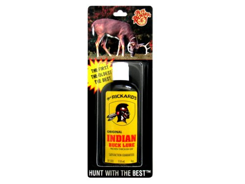 Buck Stop Lure (Pete Rickard's Indian Buck Lure, 4-Ounce)