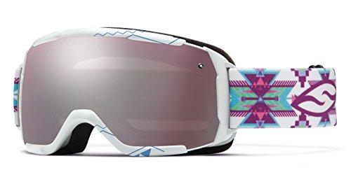 Price comparison product image Smith Optics 2015 Junior's Grom Winter Snow Goggles (White Arrowhead - Ignitor)