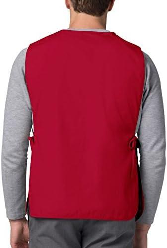 Adar Uniformi Unisex Grembiule da Lavoro Con Tasche per Lavori in settori Bellezza /& Medicina 3 Pack