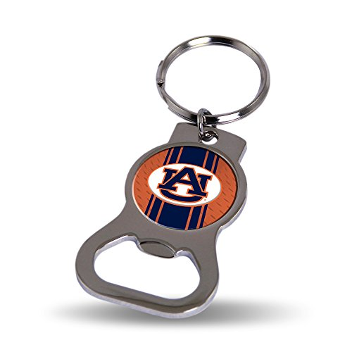 Rico Auburn Tigers Official NCAA 3 inch Bottle Opener Key Chain Keychain by 622381 (Tigers Bottle Opener Keychain)