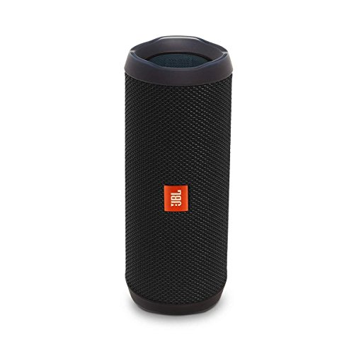 JBL Flip 4 Bluetooth Portable Stereo Speaker – black