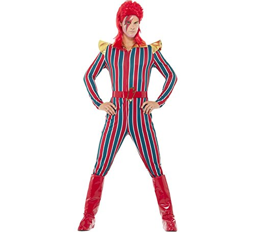 Smiffys Men's Space Superstar Costume, Multi, Large