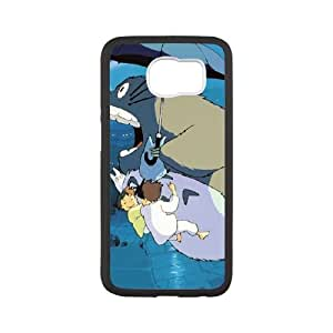 My Neighbour Totoro Samsung Galaxy S6 Cell Phone Case White R2955979